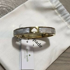 Kate Spade New York Hole Punch Hinged Bracelet